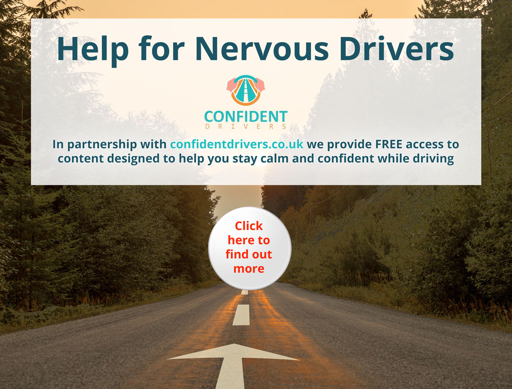 Help for nervous drivers